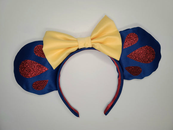 Snow White Inspired Minnie Ears