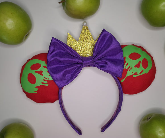 Evil Queen Inspired Minnie Ears