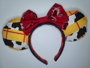 Woody Inspired Minnie Ears