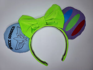 Buzz Lightyear Inspired Minnie Ears