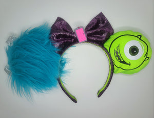 Monster's Inc Inspired Minnie Ears