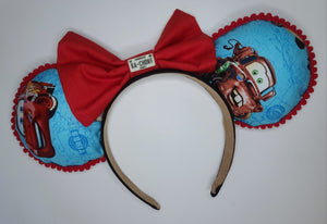 Cars Inspired Minnie Ears