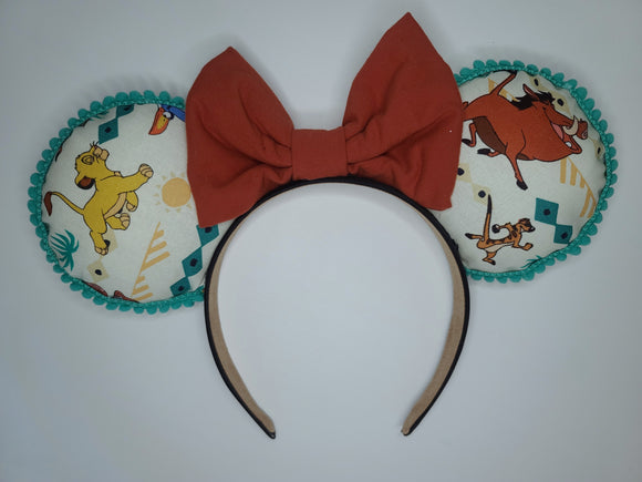 Lion King Inspired Minnie Ears