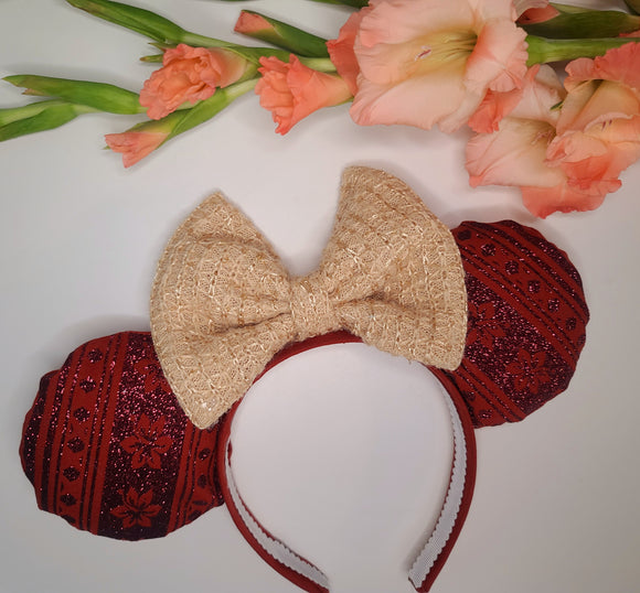 Moana Inspired Minnie Ears