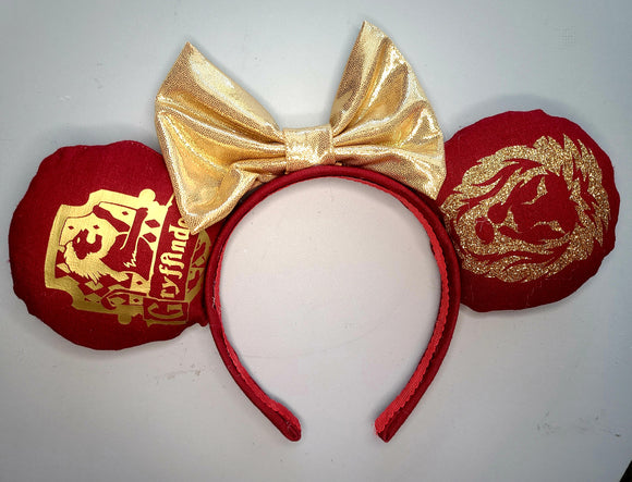 Gryffindor House Inspired Minnie Ear
