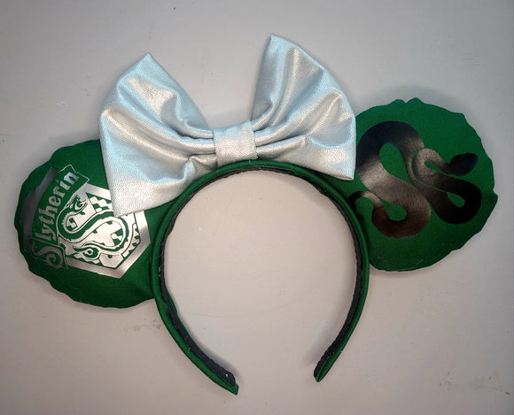 Slytherin House Inspired Minnie Ear