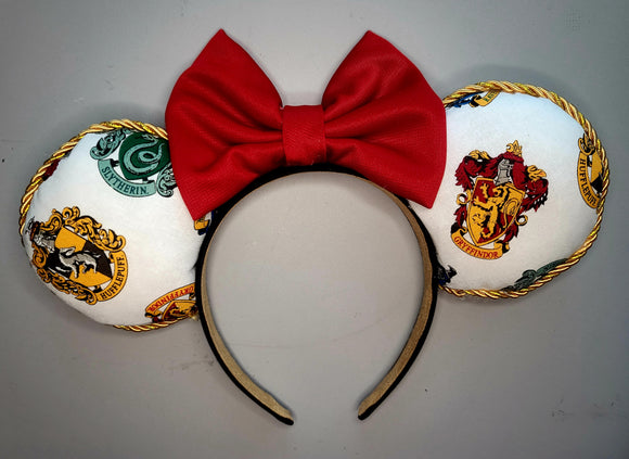 Hogwarts Houses Inspired Minnie Ears