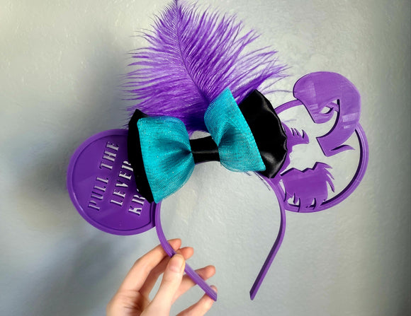 Yzma Inspired 3D Printed Minnie Ears