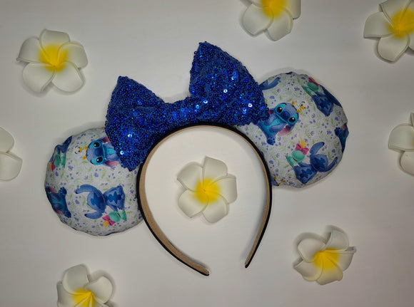 Stitch Inspired Minnie Ears