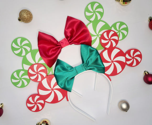 Green Peppermint Minnie Ears