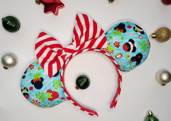 Mickey's Christmas Inspired Minnie Ears