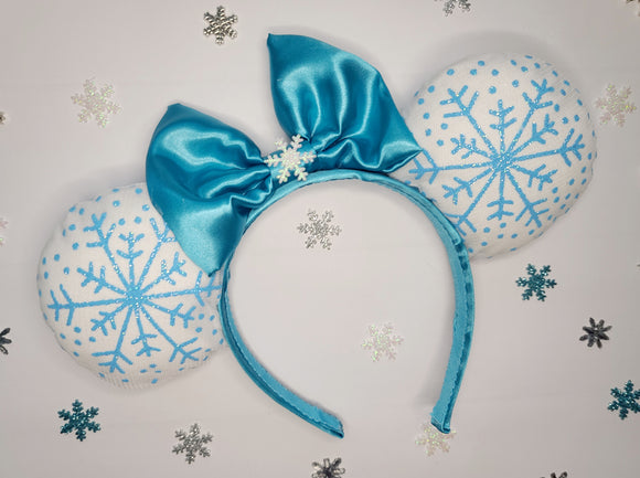 Let It Go Inspired Minnie Ears
