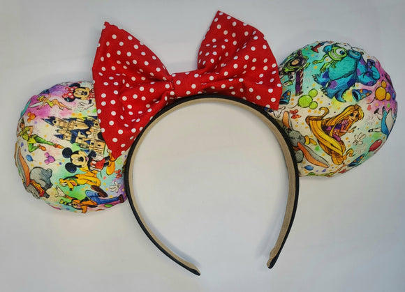 Disney Characters Inspired Minnie Ears