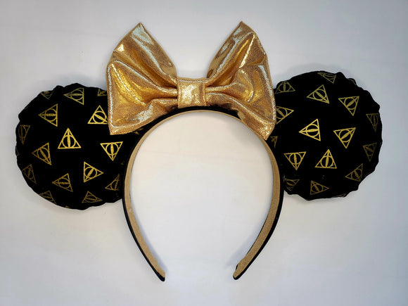 Deathly Hallows Inspired Minnie Ears