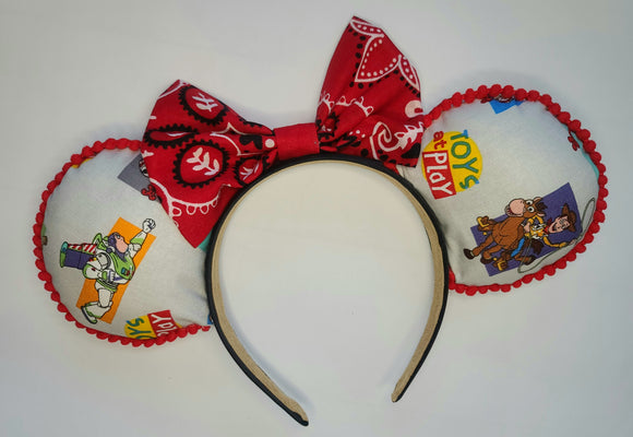 Toy Story Inspired Minnie Ears