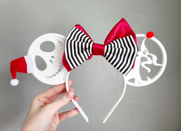 Nightmare Before Christmas - Christmas Inspired Minnie Ears