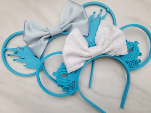 Cinderella Inspired 3D Printed Minnie Ears