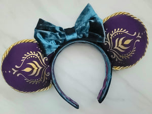 Queen Anna Inspired Minnie Ears