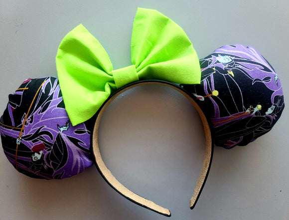 Maleficent Inspired Minnie Ears