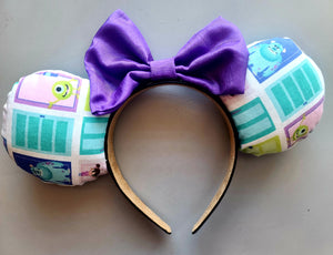 Monsters Inc Inspired Minnie Ears
