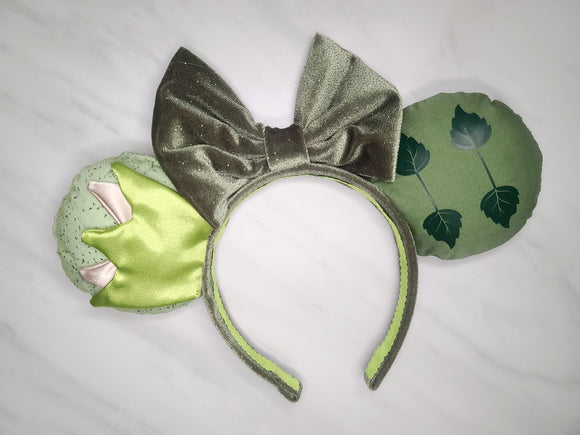 Tiana and Naveen Inspired Minnie Ears