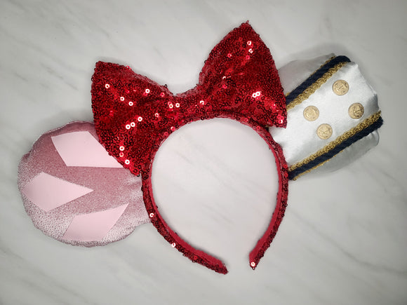 Ariel and Eric Inspired Minnie Ears
