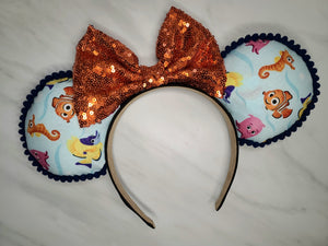 Nemo and Friends Inspired Minnie Ears