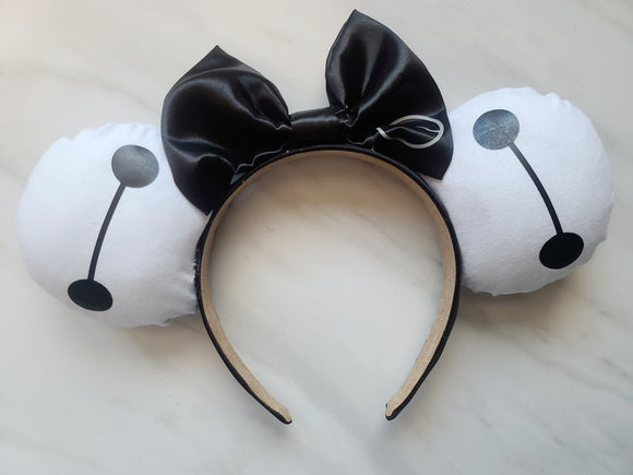 Baymax Inspired Minnie Ears