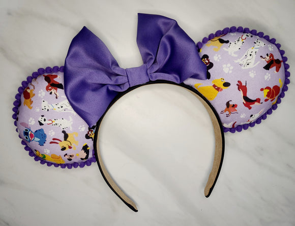Disney Dogs Inspired Minnie Ears