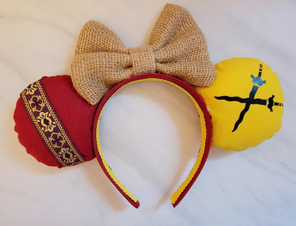 Raya Inspired Minnie Ears