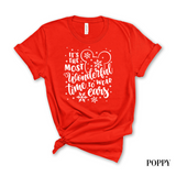 Most Wonderful Time to Wear Ears T-Shirt