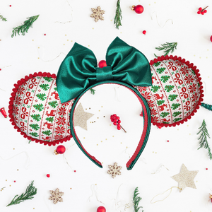 Not So Ugly Christmas Sweater Minnie Ears