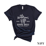 Maleficent Spinning Wheel Co. T-Shirt