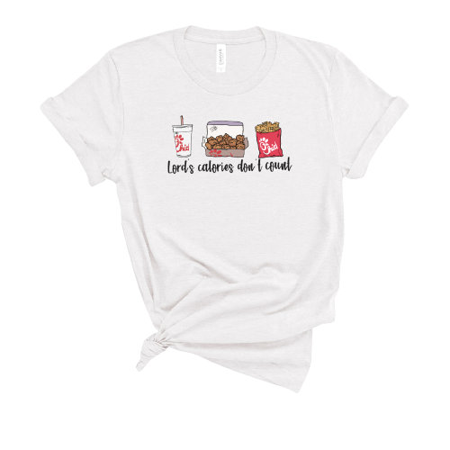 The Lord's Calories Don't Count T-Shirt