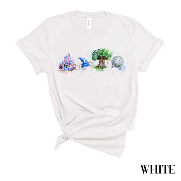 Watercolor Parks T-Shirt