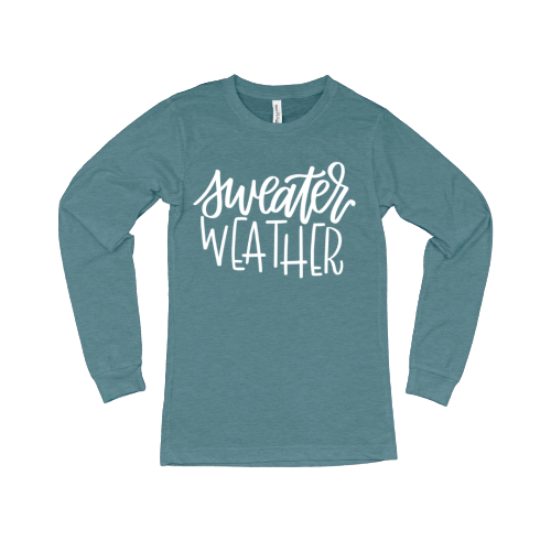 Sweater Weather LS T-Shirt