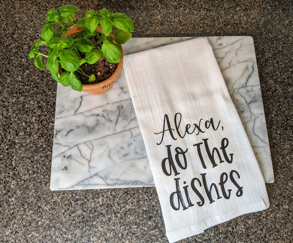 Do the Dishes Tea Towel