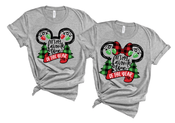 Mickey's Favorite Time of Year T-Shirt