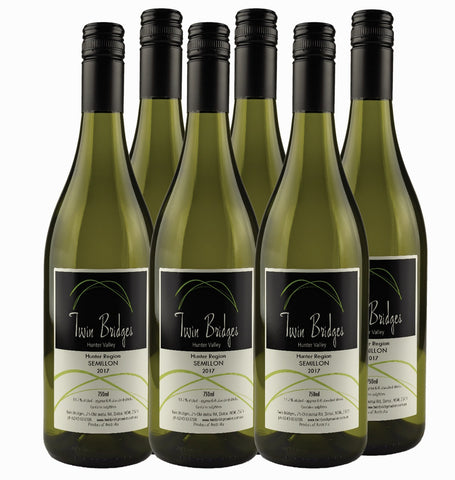 2017 Hunter Valley Semillon - 6 pack special