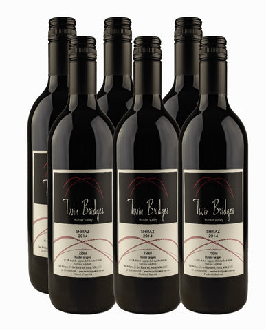 2014 Hunter Valley Shiraz - 6 pack special