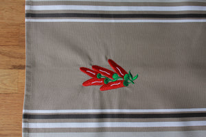 "TORCHON ""OLGA"" - Broderie Piment"