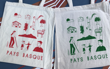 TOTE BAG - Pays Basque Rouge
