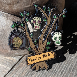 Family Tree pin