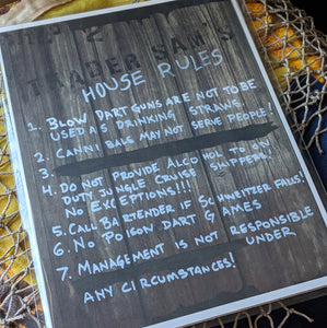 House Rules - West Coast