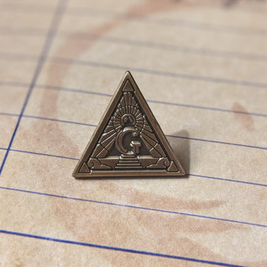 Gozerian Society lapel pin