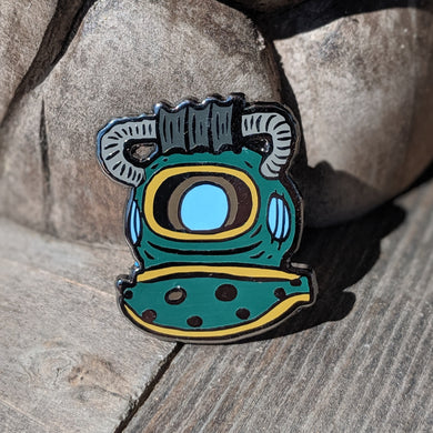 Dive Helmet pin