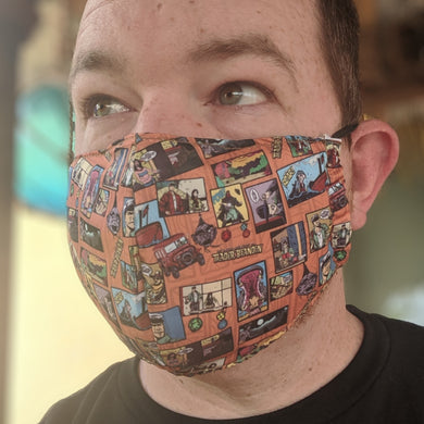 Untold Adventures face mask