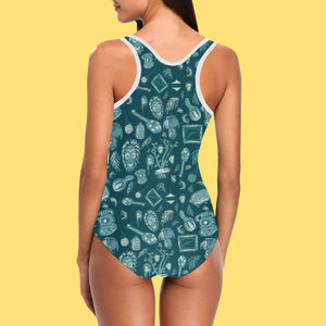 Sam's Favorites Womens One-Piece Swimsuit
