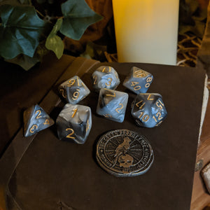 Game Dice - Pearl
