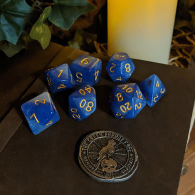 Game Dice - Mystical Blue